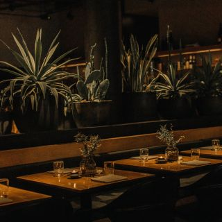 A photo of Cosme restaurant