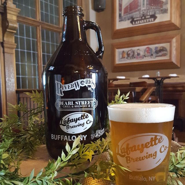 Growlers To-Go! - Lafayette Brewing Company, Buffalo, NY