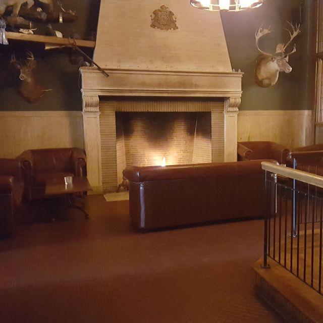 Fireplace Room - Lafayette Brewing Company, Buffalo, NY