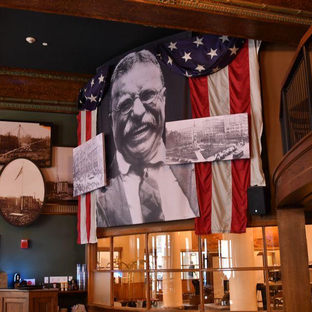 Teddy Mural - Lafayette Brewing Company, Buffalo, NY