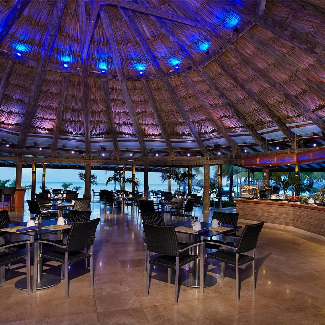 Arubapureocean Indoor Night - Pureocean Restaurant at Divi Aruba Phoenix Beach Resort, Oranjestad, Aruba