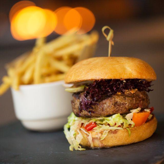 Burger - Trace, Seattle, WA