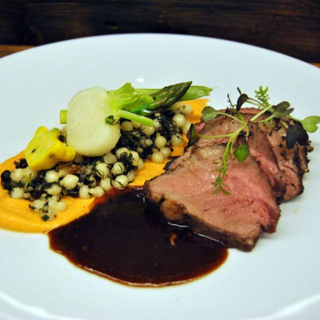 Roasted Lamb - Tundra Restaurant & Bar, Toronto, ON