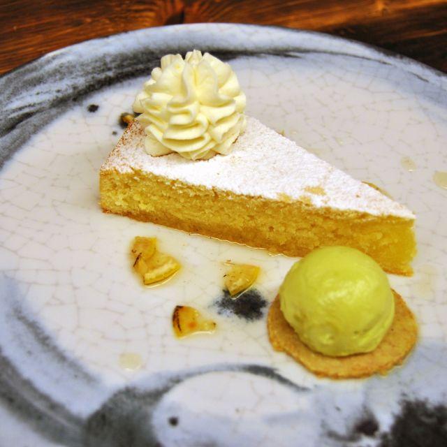 Lemon Cake - Tundra Restaurant & Bar, Toronto, ON