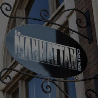 A photo of Le Manhattan Bistro restaurant