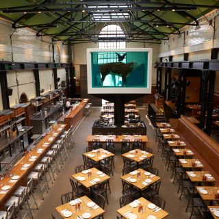 A photo of Tramshed restaurant