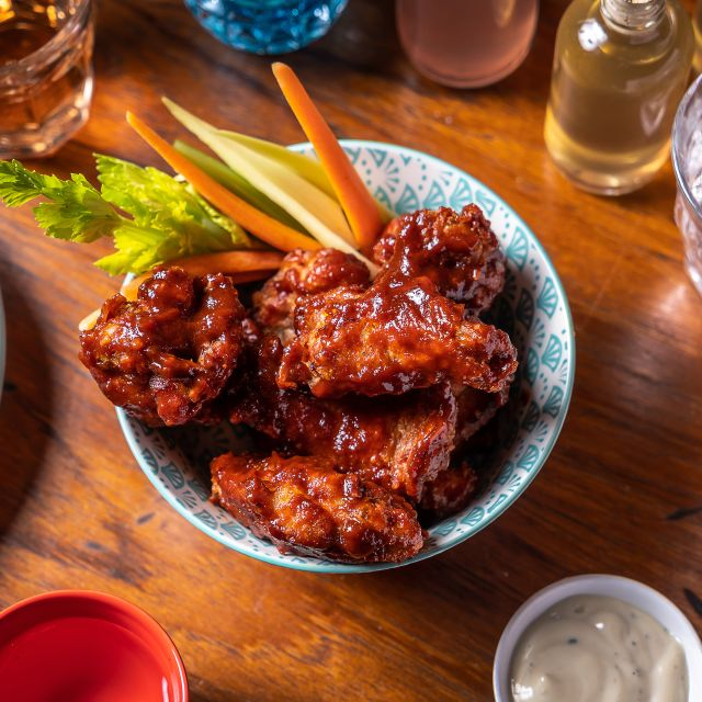 Forever Crispy Wings - The Poni Room, New York, NY