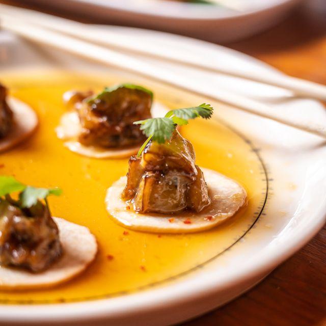 Mushroom Ceviche - The Poni Room, New York, NY