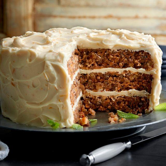 Carrot Cake - Claim Jumper - La Mesa, La Mesa, CA