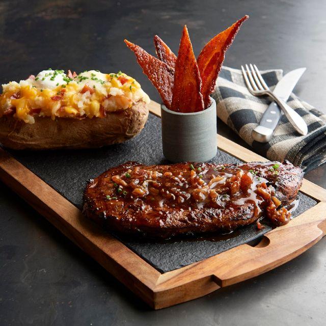 Bacon-bacon Oz Ribeye - Claim Jumper - Tukwila, Tukwila, WA