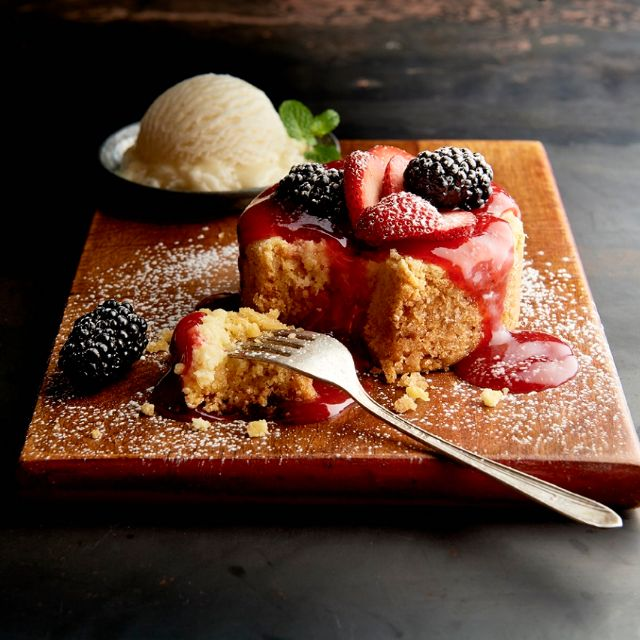 Berry Butter Cake - Claim Jumper - Village of Hoffman Estates, Village of Hoffman Estates, IL