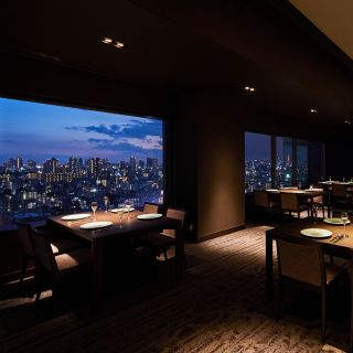 A photo of SKY TREE VIEW RESTAURANT REN (SUMIBIYAKI Steak) - Tobu Hotel Levant Tokyo restaurant