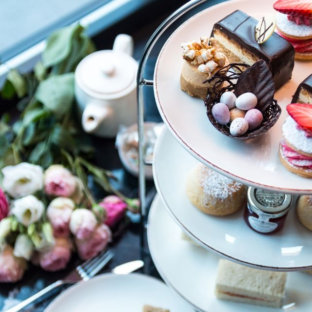 Afternoon Tea at The Grafton Hotel, Warren Street, London