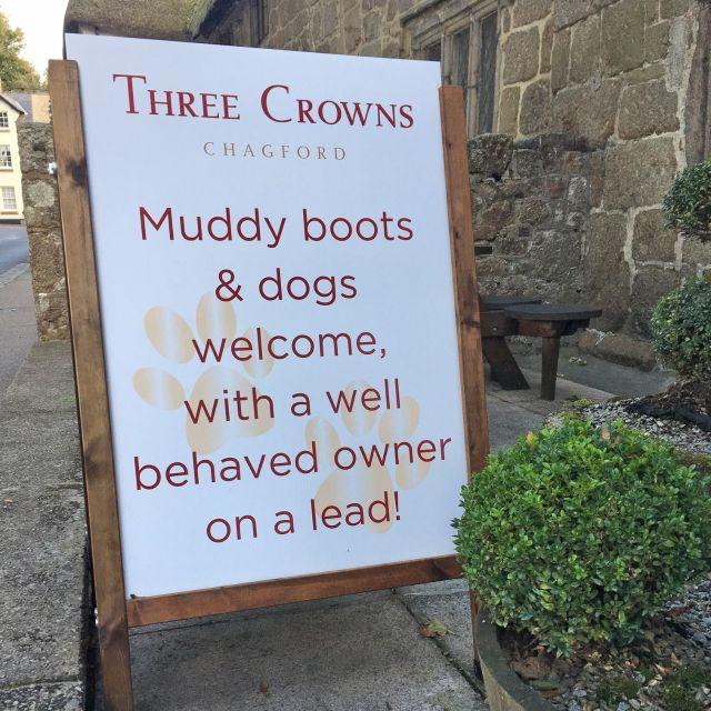 The Three Crowns, Chagford, Devon