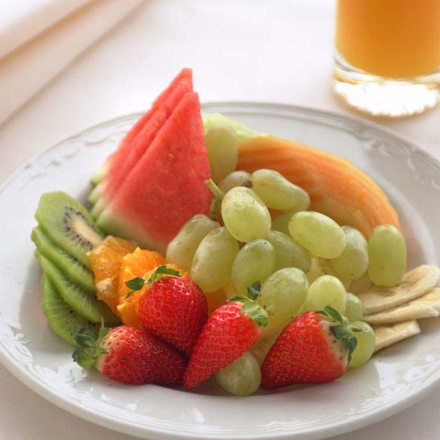 Menu-fruit-plate - Jamison Views Restaurant at Hotel Mountain Heritage - Katoomba, Katoomba, AU-NSW