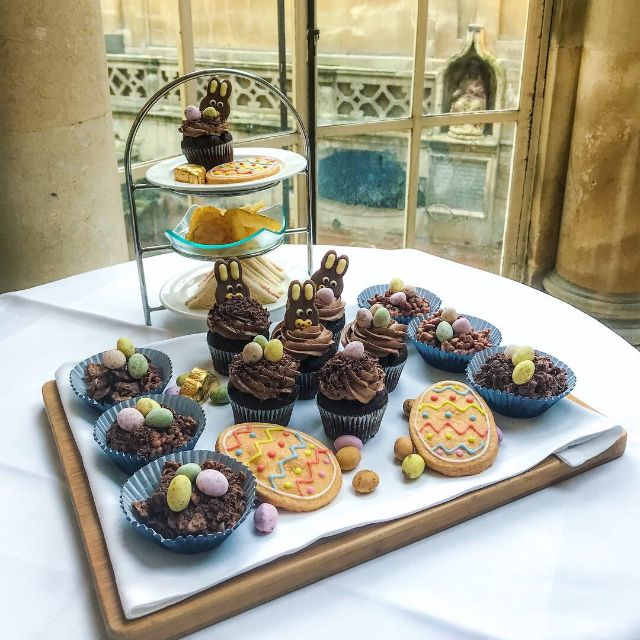 Child's Afternoon Tea - The Pump Room, Bath, Somerset