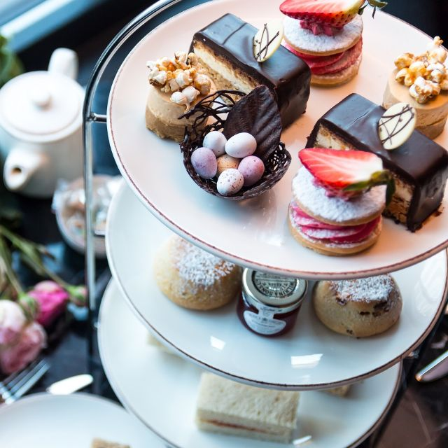 Afternoon Tea at The New Providence Wharf Hotel, Canary Wharf, London