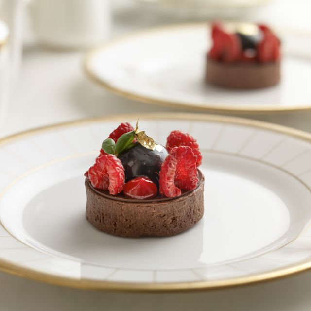 Chocolate Framboise - Afternoon Tea at Four Seasons Ten Trinity Square, London