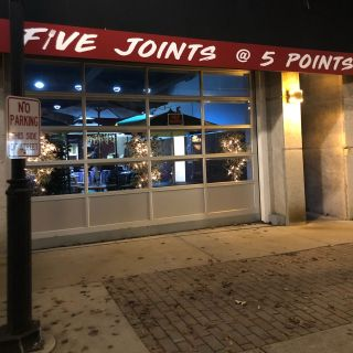 5 Joints @ 5 Points