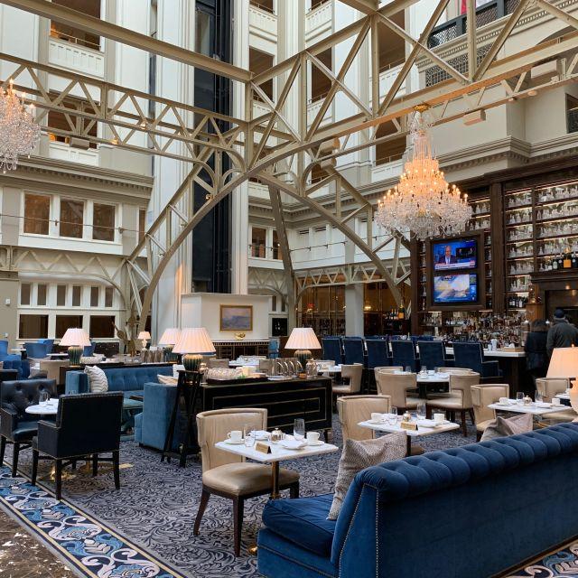 Benjamin Bar & Lounge at Trump International Hotel, Washington, DC