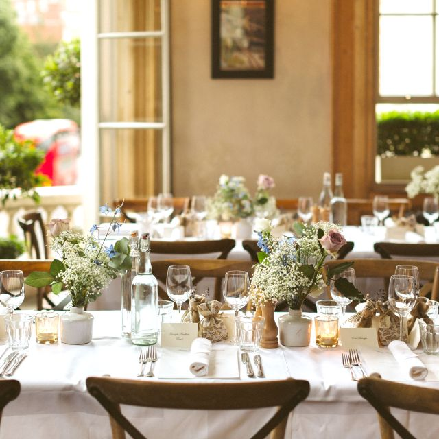 Main Dining Room Wedding - The Orange, London