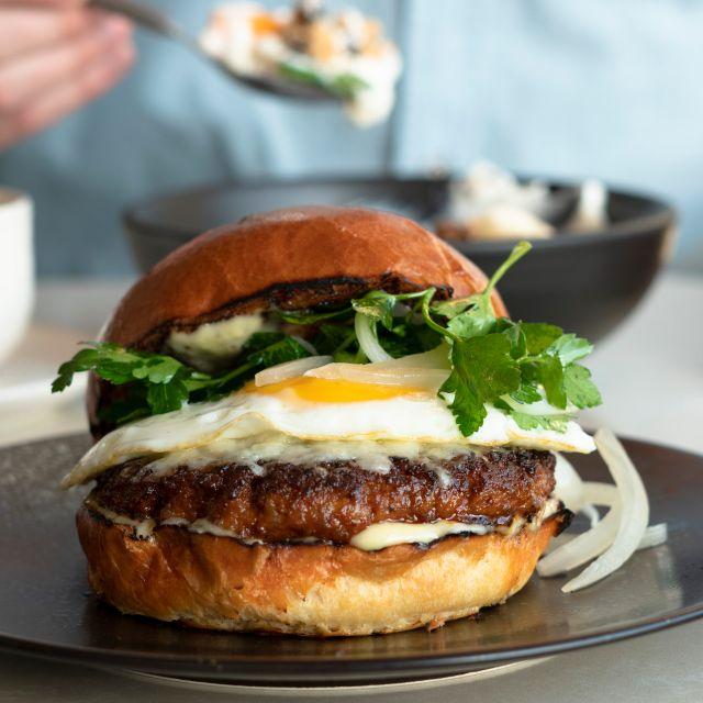 Santuari Burger Yogurt - Santuari Restaurant, Los Angeles, CA