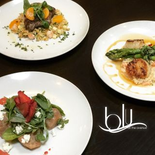 A photo of blu on the Avenue restaurant