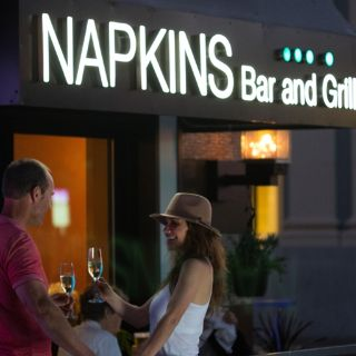 A photo of Napkins Bar and Grill restaurant