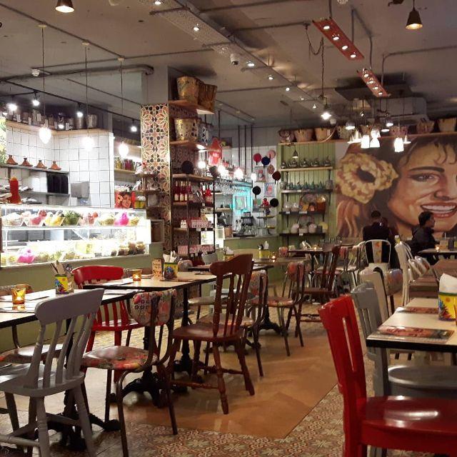 Comptoir Libanais - Poland Street, London