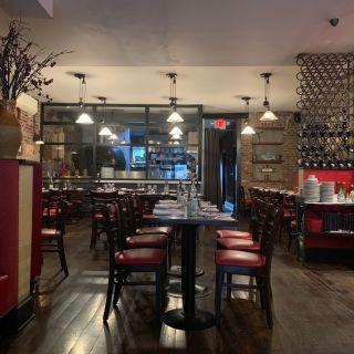 A photo of Monte's restaurant