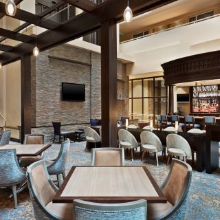 Embassy Suites by Hilton Boston/Waltham - Atrium Lounge