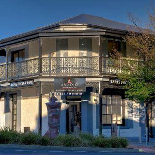 A photo of Amadio Wines Kangaroo Island Cellar Door restaurant