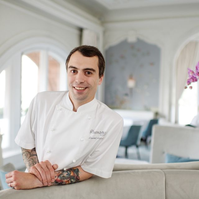 Head Chef Dan Ashmore - The Pompadour, Edinburgh