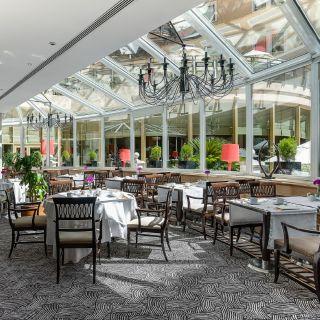 A photo of El Jardin del InterContinental restaurant