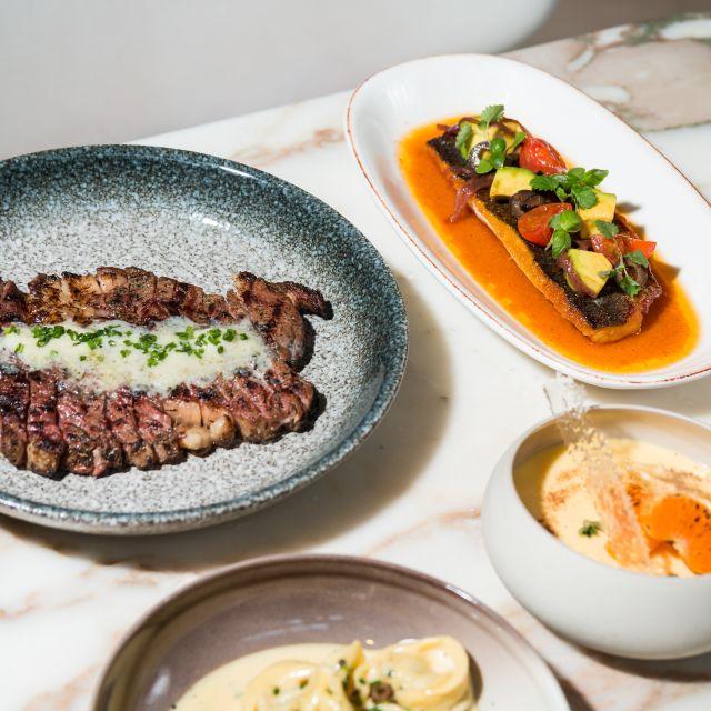 Rib Eye Steak - Monmouth Kitchen, London