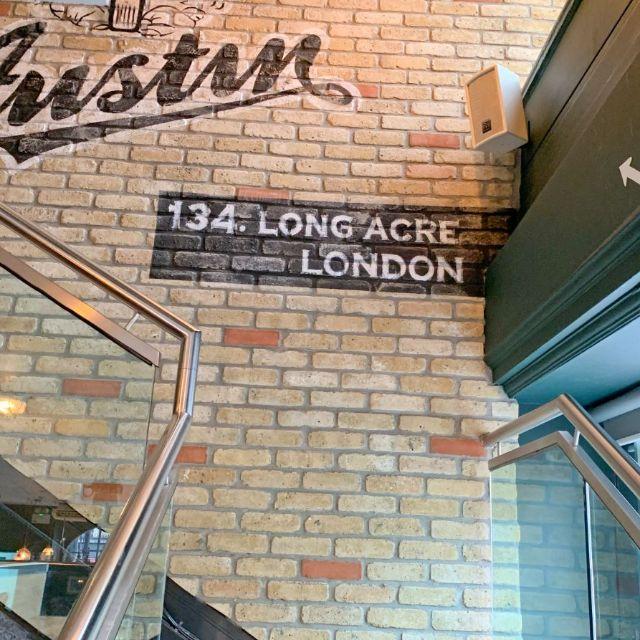 The Long Acre, London