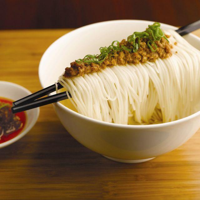 Szechuan Spicy Dan Dan Noodles With Dried Minced Pork - Szechuan Kitchen - Fairmont Singapore, Singapore, -