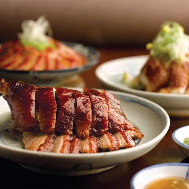 Barbecued Meat Combination - Szechuan Kitchen - Fairmont Singapore, Singapore, -