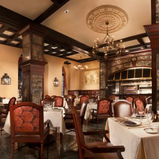The Rib Room at the Omni Royal Orleans
