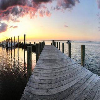 A photo of The Landing at Ocean Beach restaurant