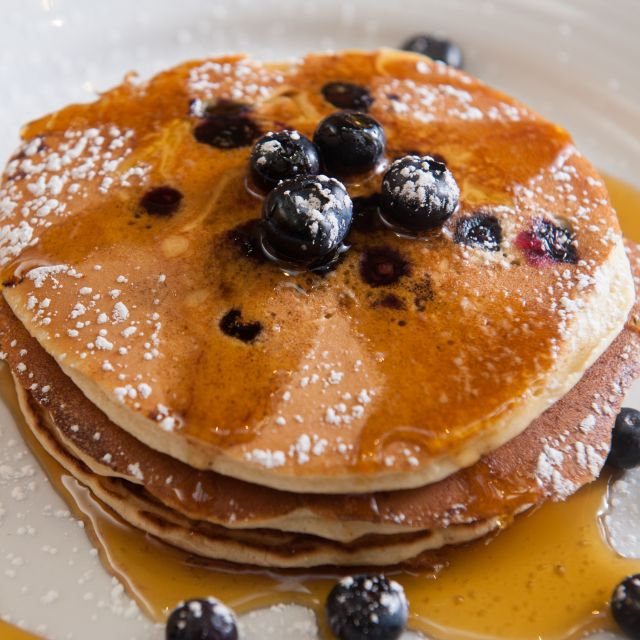 Blueberry Pancakes - North 26 Restaurant & Bar, Boston, MA