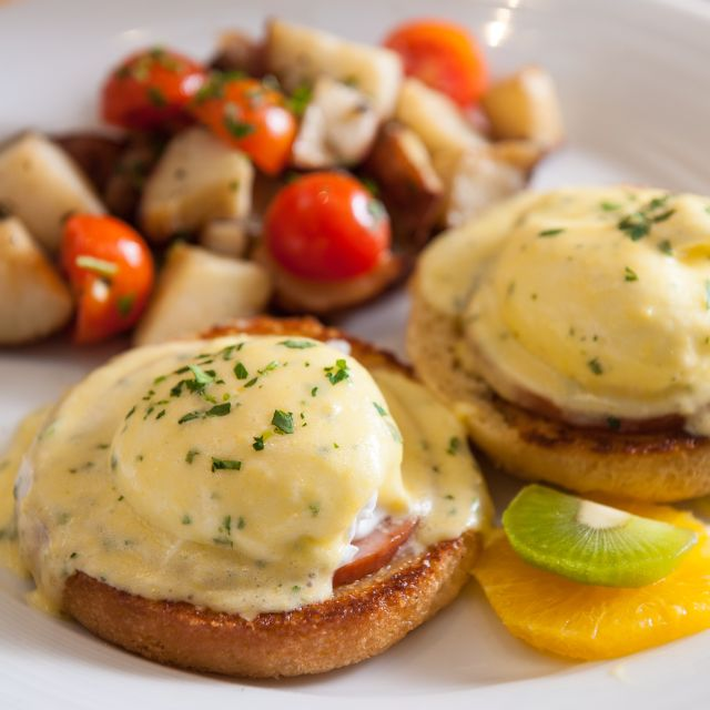 Eggs Benedict - North 26 Restaurant & Bar, Boston, MA