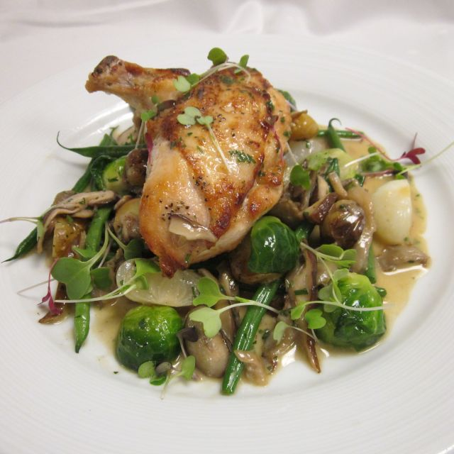 Autumn Statler Chicken - North 26 Restaurant & Bar, Boston, MA