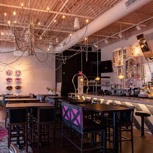 Pinkys--interior - Pinky's Rooftop - Royal Oak, Royal Oak, MI