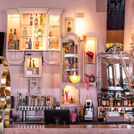 Pinkys--bar - Pinky's Rooftop - Royal Oak, Royal Oak, MI
