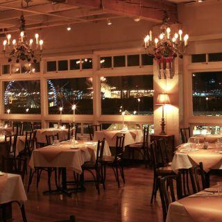 A photo of The Pink Door restaurant