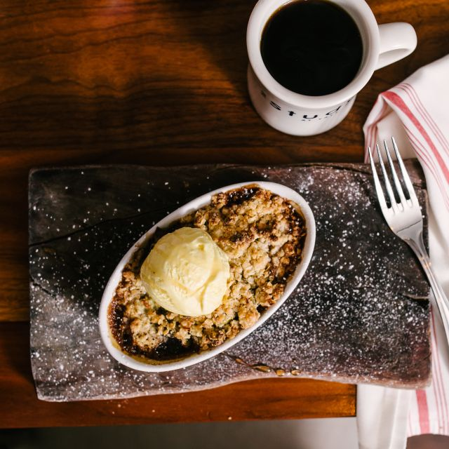 Warm Baked Butter Pear Cobbler - Heirloom - New Haven, New Haven, CT