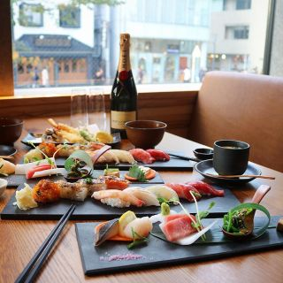 A photo of KINKA sushi bar izakaya SANGENJAYA restaurant