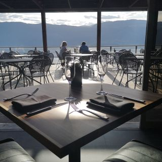 A photo of The Lookout Restaurant at Gray Monk restaurant