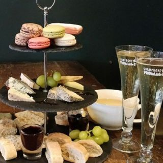 Afternoon Tea at Champagne + Fromage - Brixton